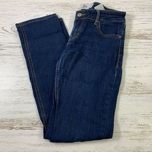 Hollister Womens Jeans Blue Cotton Stretch Skinny